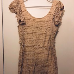 Dresses & Skirts - Gorgeous, cream colored lace dress